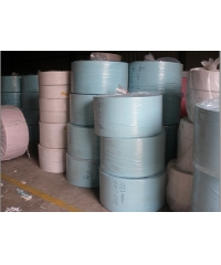 Colored jumbo roll sanitary tissue paper